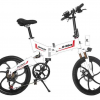 Foldable e bike in white