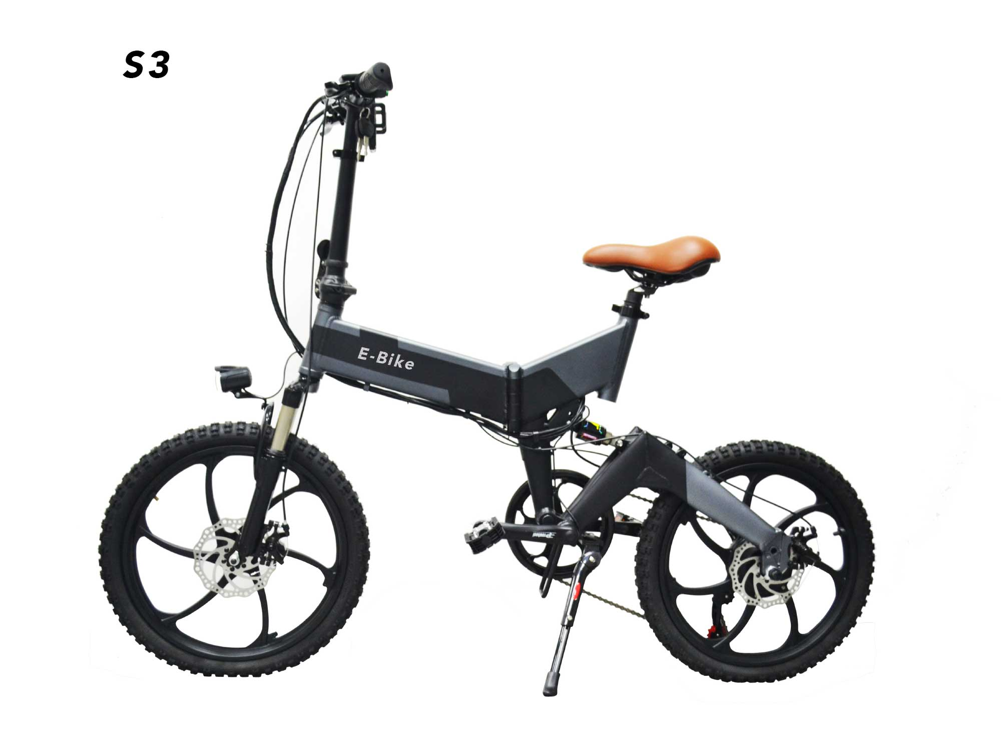 Full suspension e bike