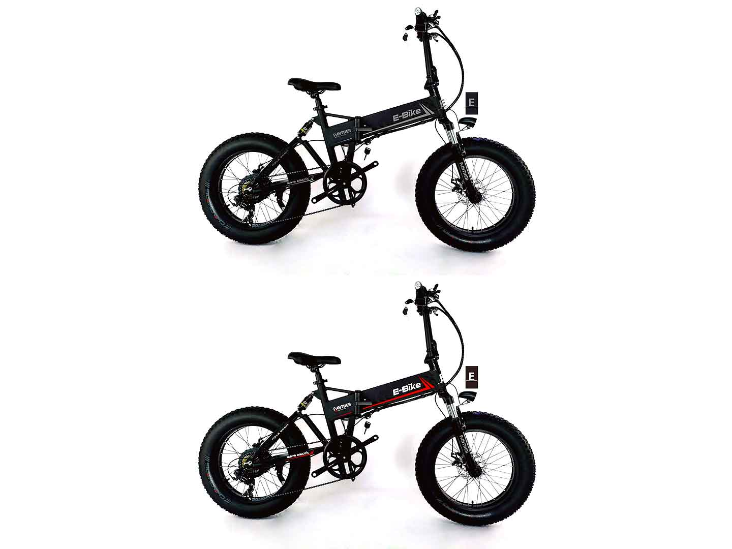 Panther fat tyre foldable bike