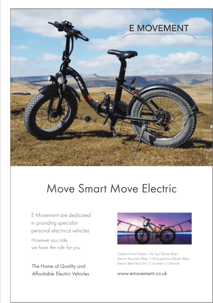 E-Movement inside magazine