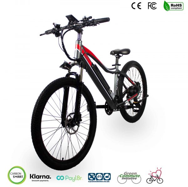 hard tail electric bike