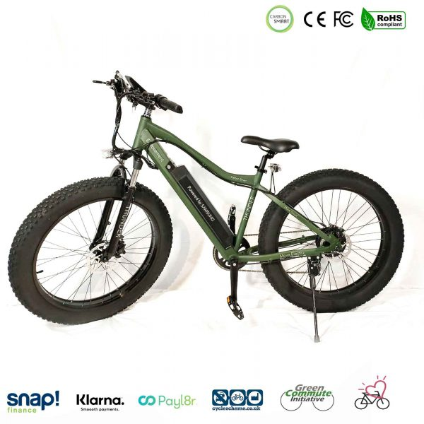 fat tyre hard tail electric bike